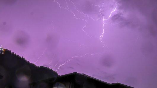 Das Wetter in Thüringen zeigt sich zum Wochenbeginn wieder von seiner nassen Seite. (Symbolbild)
