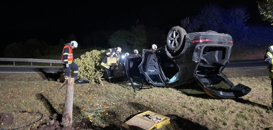 Heftiger Crash am Samstagabend in Meiningen!