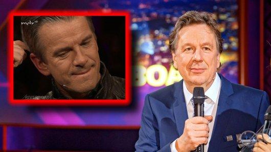 Jörg Kachelmann hat in der jüngsten Folge Riverboat dem TV-Moderator Markus Lanz die Sprache verschlagen.