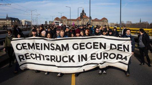 """Der MDR berichtete im """"Sachsenspiegel"""" über die Demonstrationen in Dresden – doch dabei passierte ein Fehler!"""