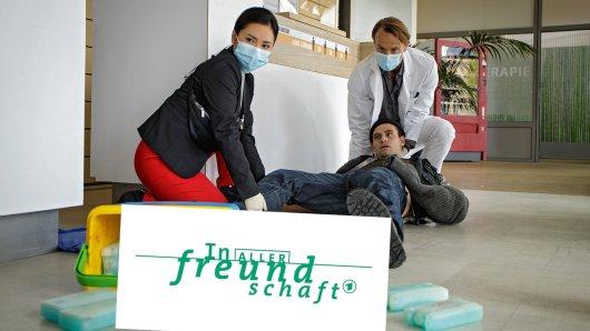 """""""In aller Freundschaft""""-Ärztin Dr. Lilly Phan (links) begeistert die Zuschauer."""