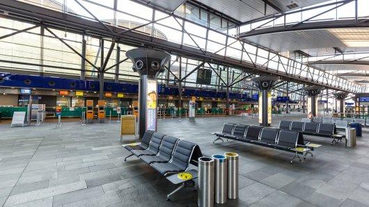Flughafen Leipzig: Bundespolizei musste zum Einsatz anrücken.