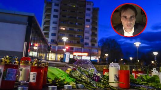 Hanau trauert nach den Anschlag von Tobias Rathjen.