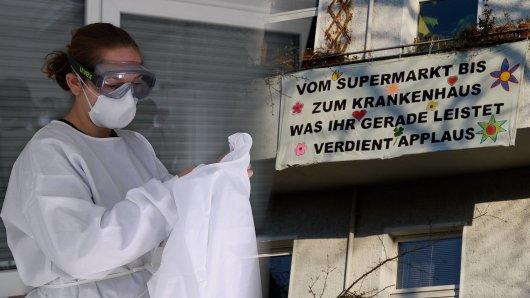 Im Kampf gegen das Coronavirus fühlt sich einer Krankenpflegerin im Stich gelassen. (Symbolfoto)