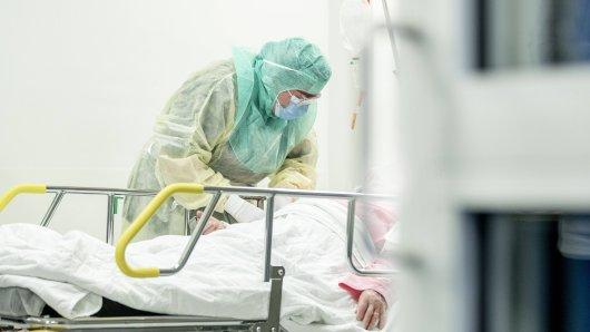 Das Coronavirus hat einer Krankenschwester das Leben gekostet. (Symbolbild)