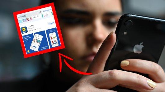 Lidl sorgt mit der neuen App für viel Ärger bei den Kunden. (Symbolbild)
