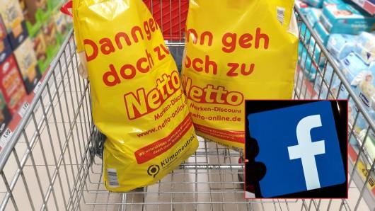 Netto: Facebook-Werbung begeistert Kunden.