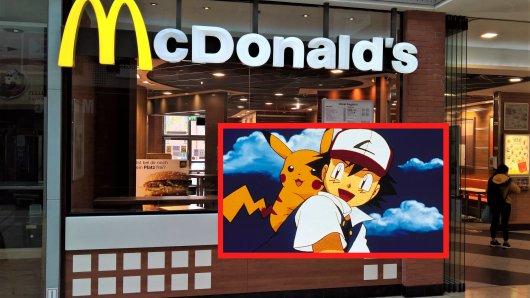 Bald gibt es bei McDonald's Pokémon-Karten zu kaufen.