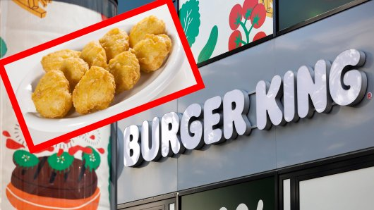 Burger King bietet auch fleischlose Nuggets auf Soja und Weizenbasis an. (Symbolbild)