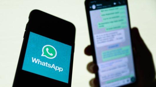 Einige Whatsapp-Nutzer wundern sich über n´Nachrichten von PayPal in ihrem Messenger. (Symbolbild)