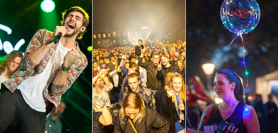Zum Zwiebelmarkt 2018 war in Weimar wieder einiges los, Antenne Thüringen feierte mit den Besuchern auf großer Bühne eine große Party. Hier gibt's die schönsten Bilder vom Abend!