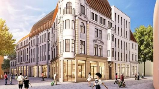 In die alte Bauruine in der Schillerstraße in Weimar soll neues Leben einziehen. Bis zum Winter 2020 wird hier ein Boutique Hotel mit Geschäften errichtet. Die denkmalgeschützte Fassade wird saniert und bleibt bestehen.