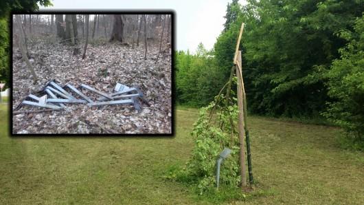 Vandalismus am Buchenwald. Das Entsetzen ist groß.
