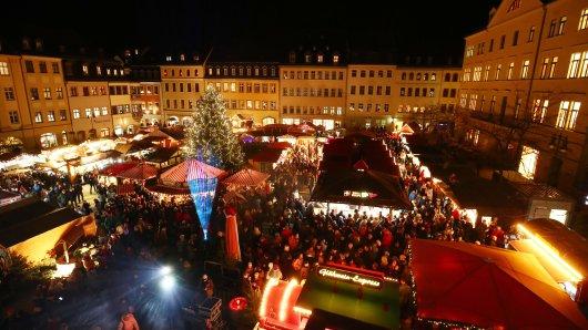 Die Polizei Weimar zieht Bilanz: So gefährlich war es auf dem Weihnachtsmarkt.