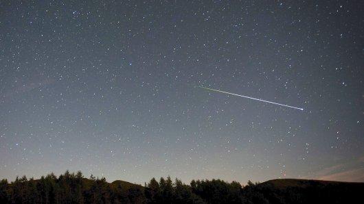 Insgesamt macht sich der Sternschnuppenstrom derGeminidennoch bis zum 16. Dezember bemerkbar - vor allem zwischen 21 Uhr und 6 Uhr (Archivbild).
