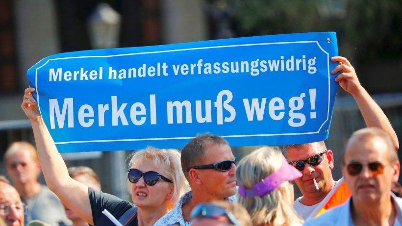 TV-Team bei Merkel-Besuch in Dresden festgehalten – ZDF will Aufklärung