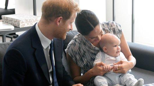 Prinz Harry, Meghan Markle und Baby Archie.
