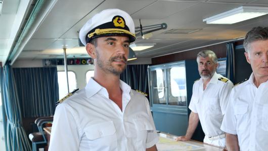Florian Silbereisen stößt bei den neuen beim Traumschiff-Dreharbeiten später dazu.