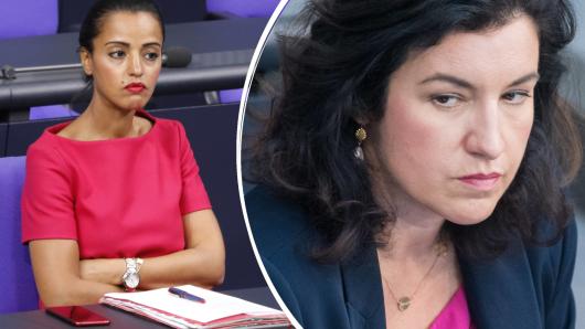 Sind entsetzt: SPD-Politikerin Sawsan Chebli und CSU-Kollegin Dorothee Bär.