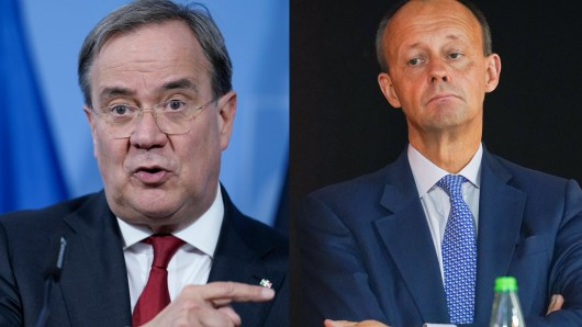 CDU-Streit zwischen Armin Laschet und Friedrich Merz.