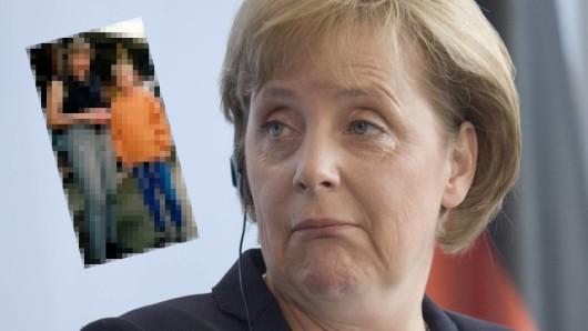 Angela Merkel: Altes Foto aufgetaucht.