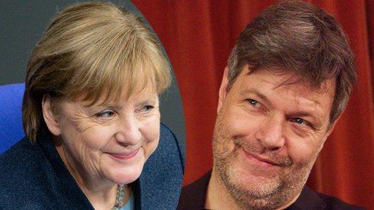 Robert Habeck würdigt Bundeskanzlerin Angela Merkel in Interview.