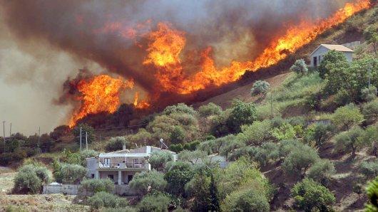 Urlaub in Italien: Schlimme Waldbrände in einigen Regionen