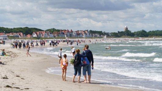 Beim Urlaub an der Ostsee sorgt eine Familie für Aufregung. (Symbolbild)