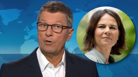 Ein kritischer Kommentar in den ARD-Tagesthemen sorgt für Empörung bei den Anhängern von Kanzlerkandidatin Annalena Baerbock.